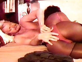 Black Princess In Undergarments Deep-throats Thick Milky Penis