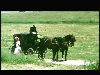 German Old School Orgy Doll Cunt Slurped Up Mini-skirt In A Antique Carriage