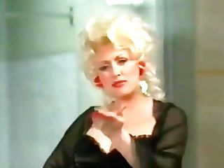 Dolly Parton In Undergarments And Nylons